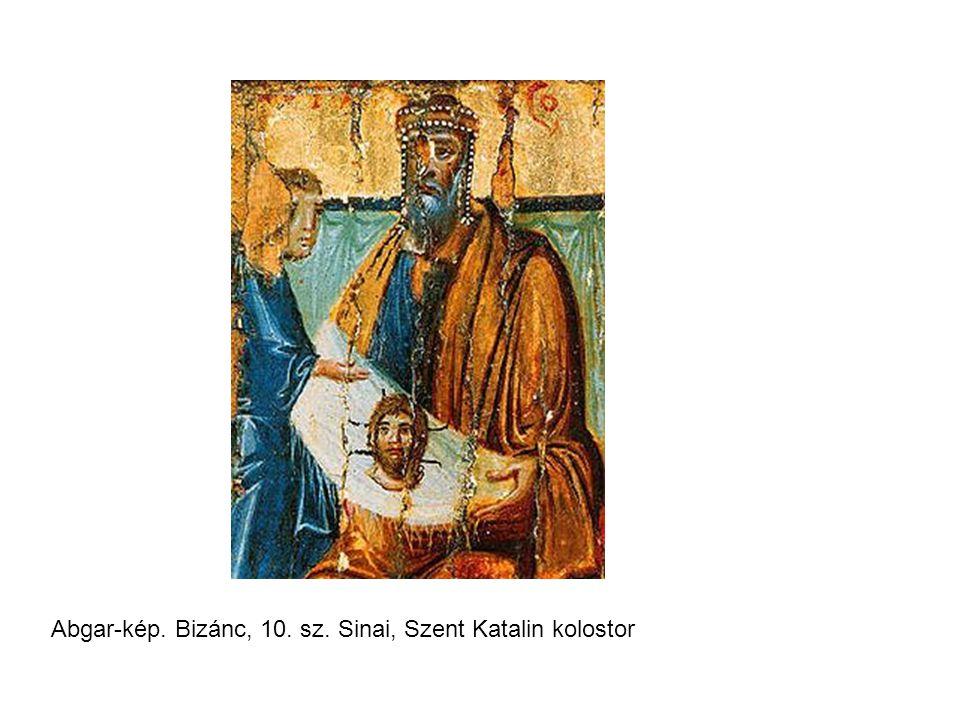 Abgar-kép. Bizánc, 10. sz. Sinai, Szent Katalin kolostor