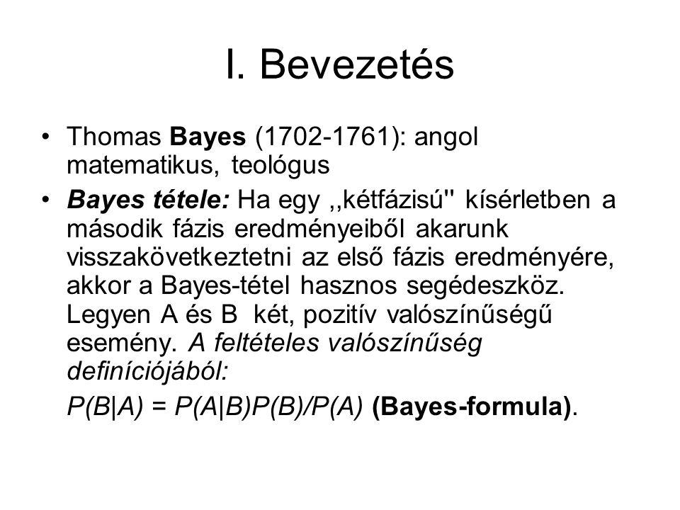 Tekintsük azt az esetet, hogy a és b nem ismert, de valahogy meghatározható a szubjektív valségi eloszlásuk, p(a,b).