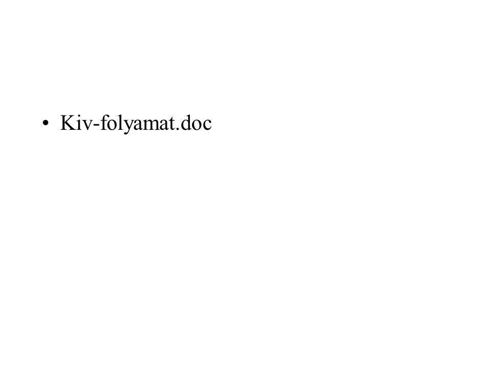 Kiv-folyamat.doc