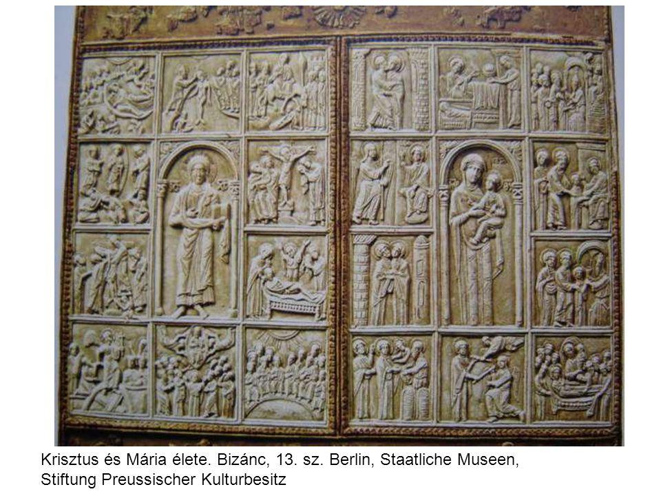 Krisztus és Mária élete.Bizánc, 13. sz.