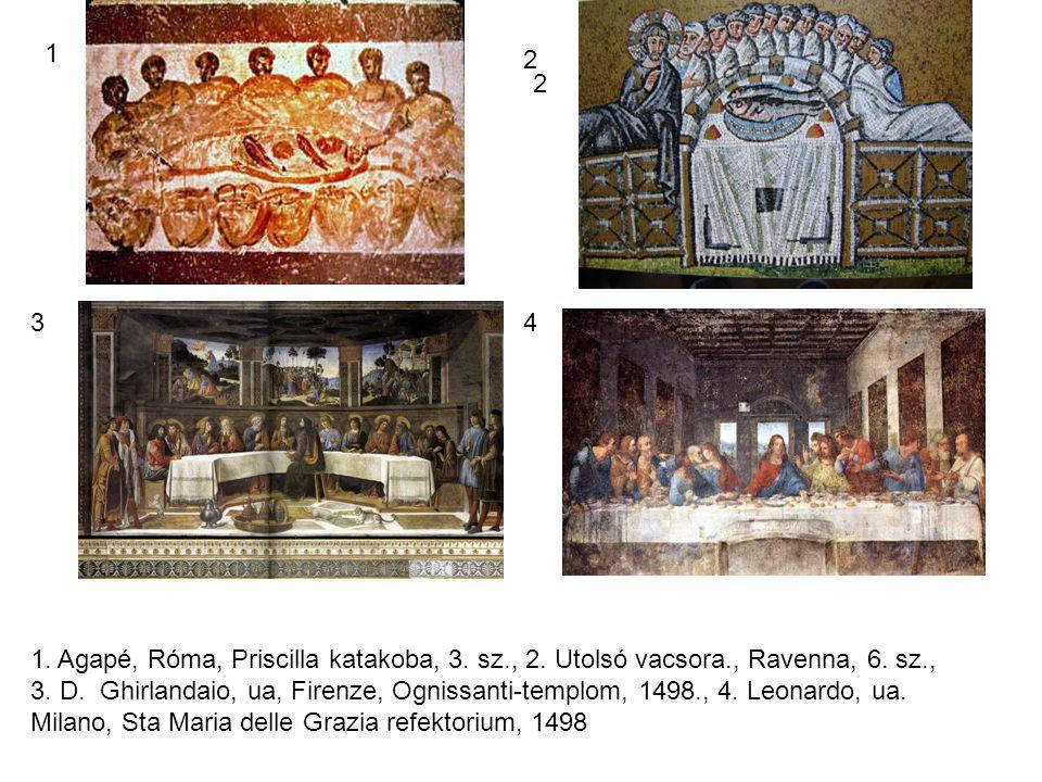 1 2 2 4 1.Agapé, Róma, Priscilla katakoba, 3. sz., 2.