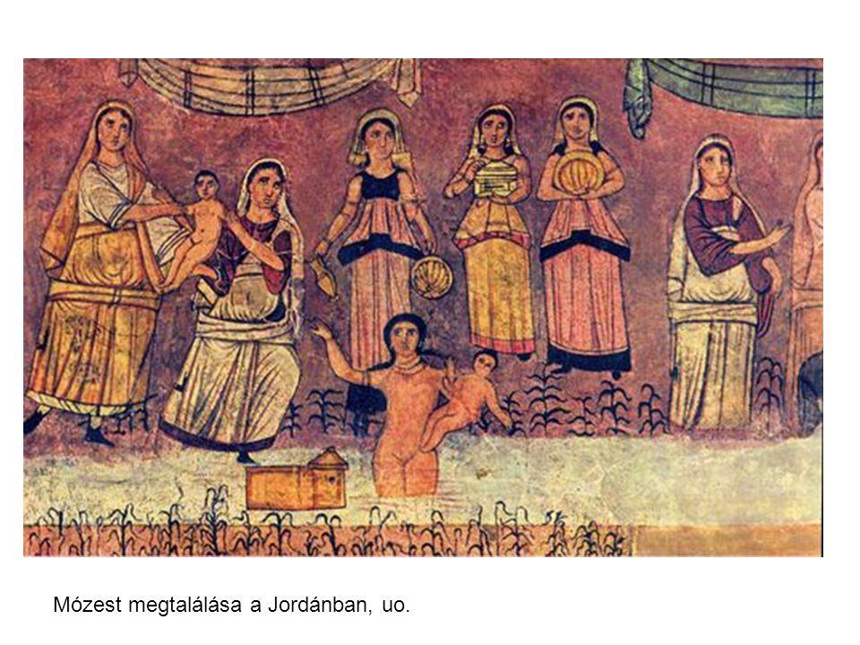 Mózest megtalálása a Jordánban, uo.