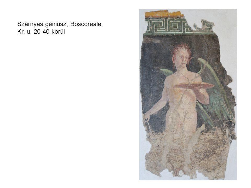 Szárnyas géniusz, Boscoreale, Kr. u. 20-40 körül