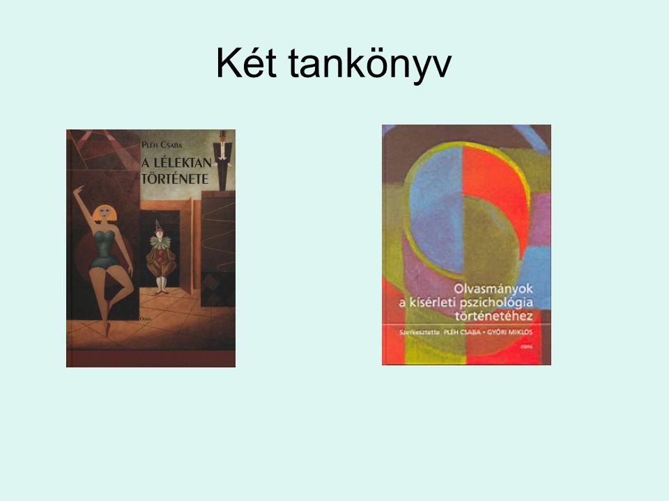 Két tankönyv