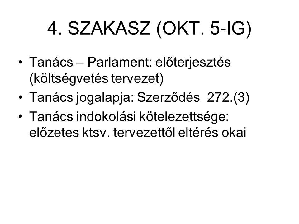 4. SZAKASZ (OKT.