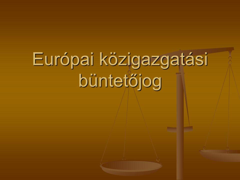 Európai közigazgatási büntetőjog