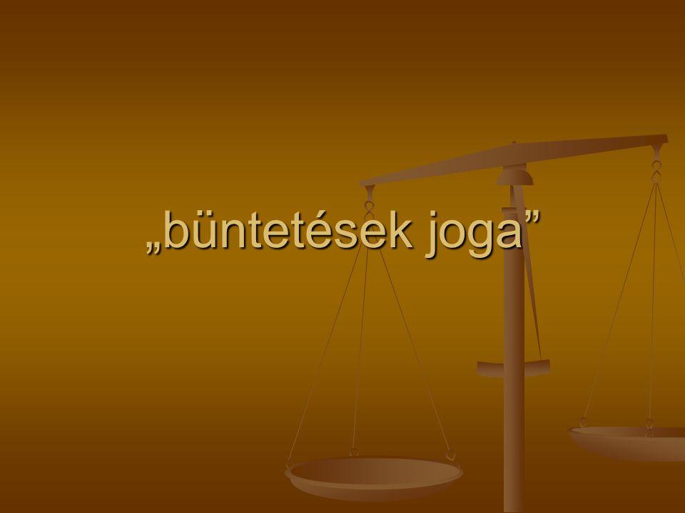 """""""büntetések joga"""""""