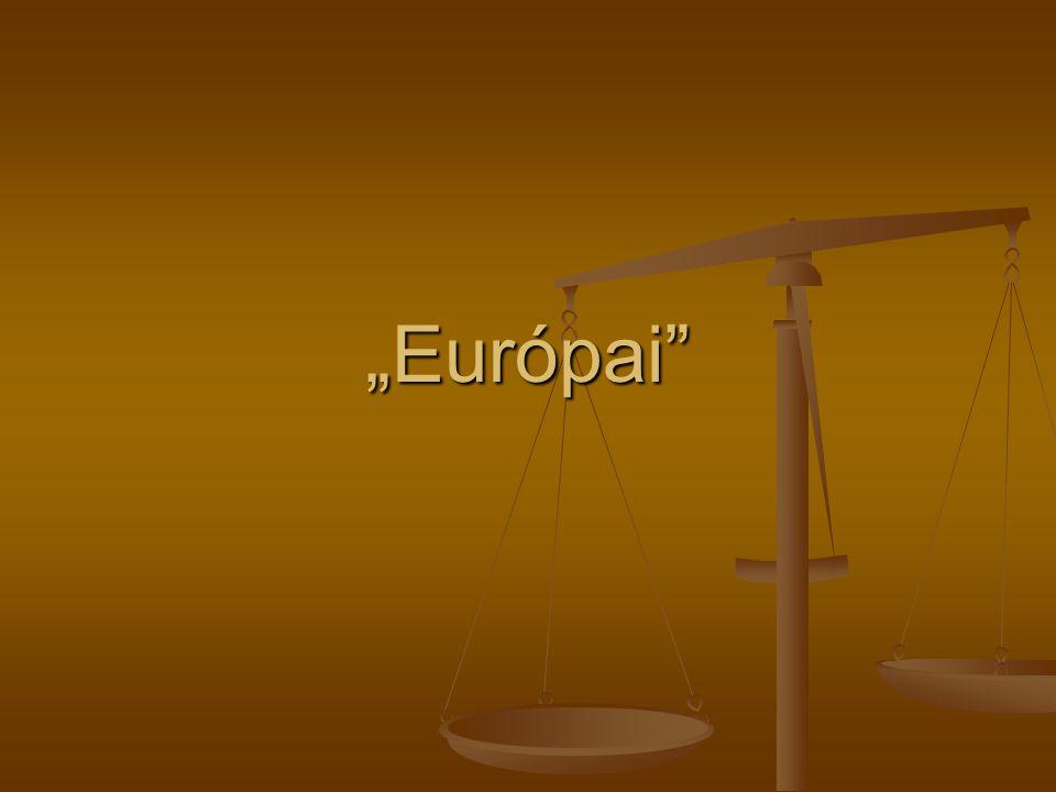 """""""Európai"""""""