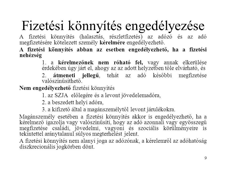 20 Az önellenőrzés 2.