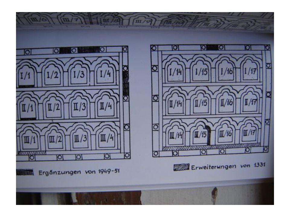 Vizitáció.MS mester 1506. A besztercebányai Szent Katalin- plébániatemplom egykori főoltára.