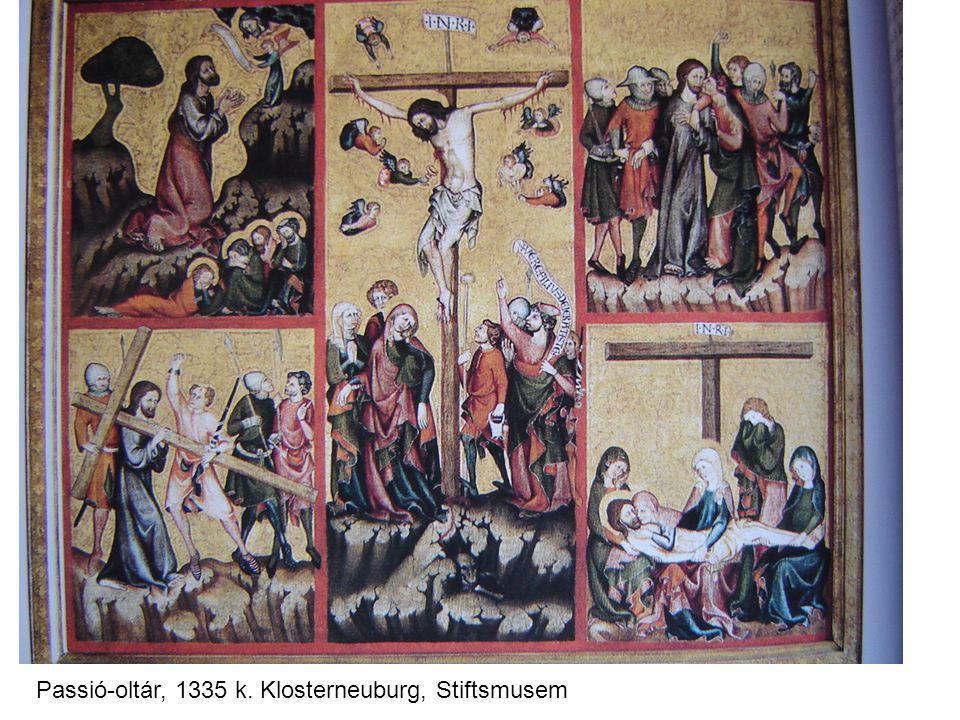 Passió-oltár, 1335 k. Klosterneuburg, Stiftsmusem