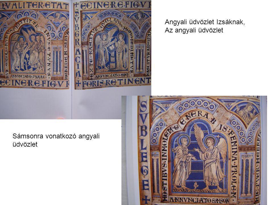 Angyali üdvözlet Izsáknak, Az angyali üdvözlet Sámsonra vonatkozó angyali üdvözlet