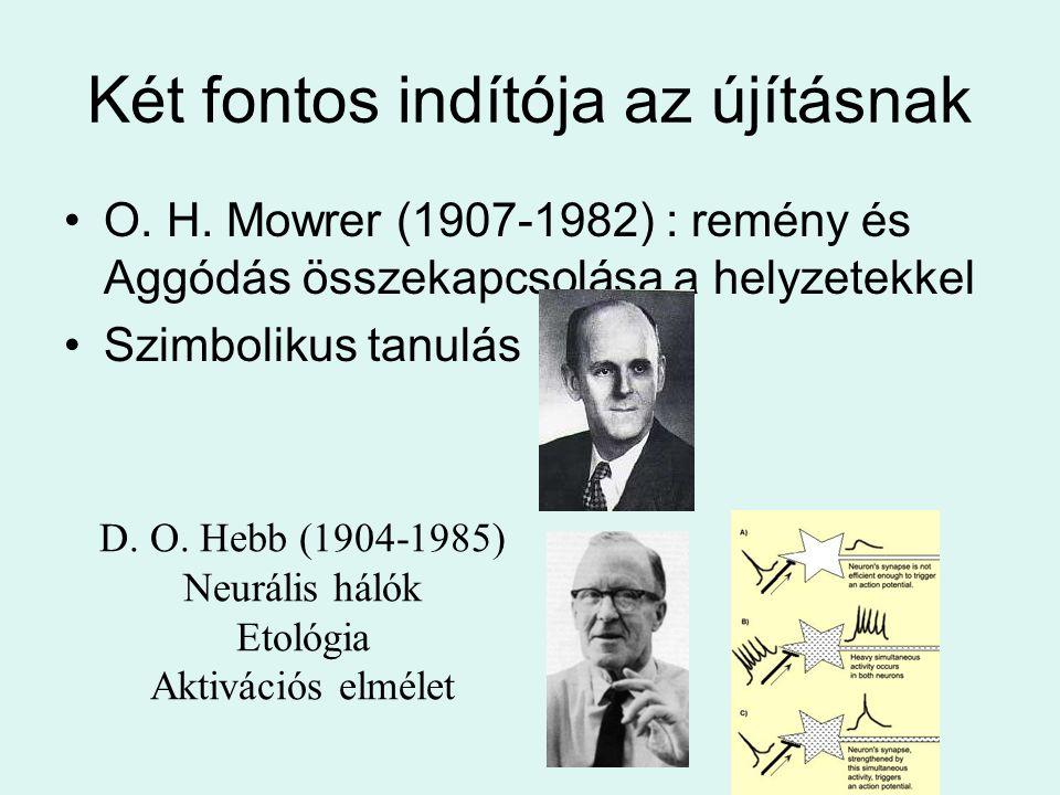 Két fontos indítója az újításnak O.H.