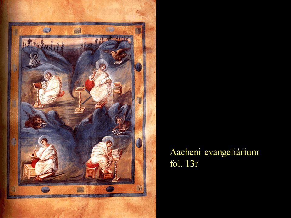 Aacheni evangeliárium fol. 13r