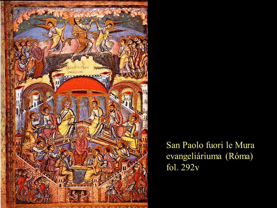 San Paolo fuori le Mura evangeliáriuma (Róma) fol. 292v