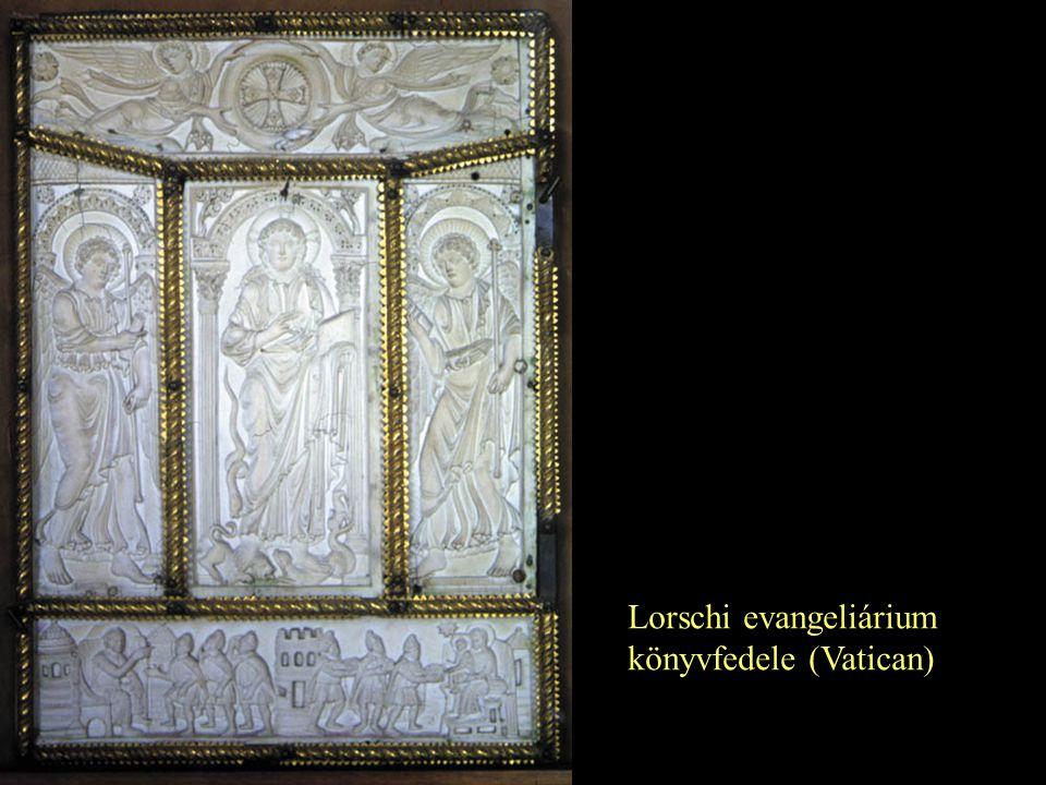 Lorschi evangeliárium könyvfedele (Vatican)