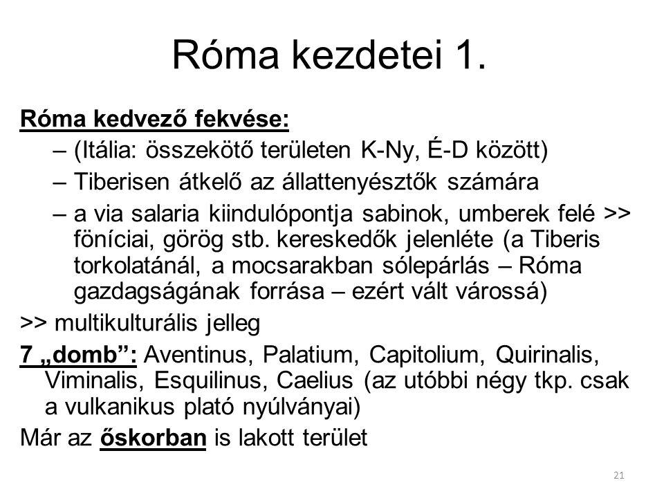 21 Róma kezdetei 1.