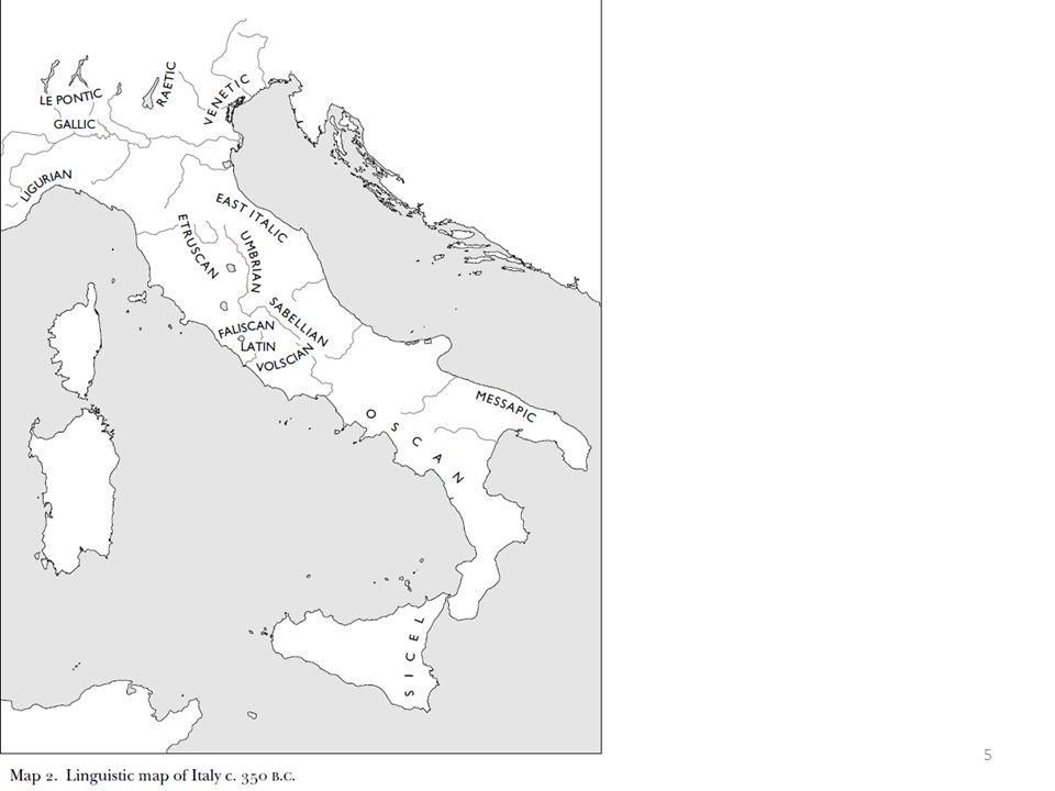 16 Az etruszk társ.és pol. szerv. Lucumo király v.