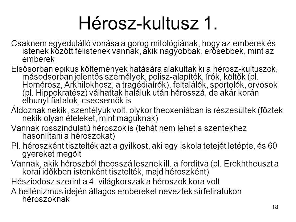 18 Hérosz-kultusz 1.