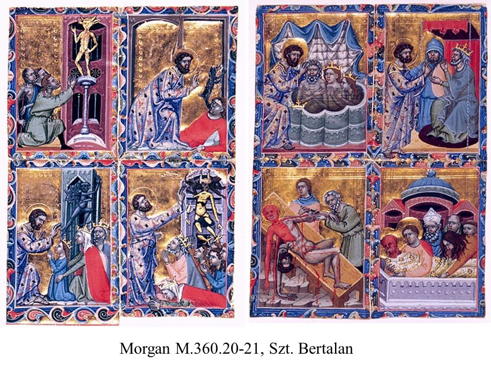 Morgan M.360.20-21, Szt. Bertalan