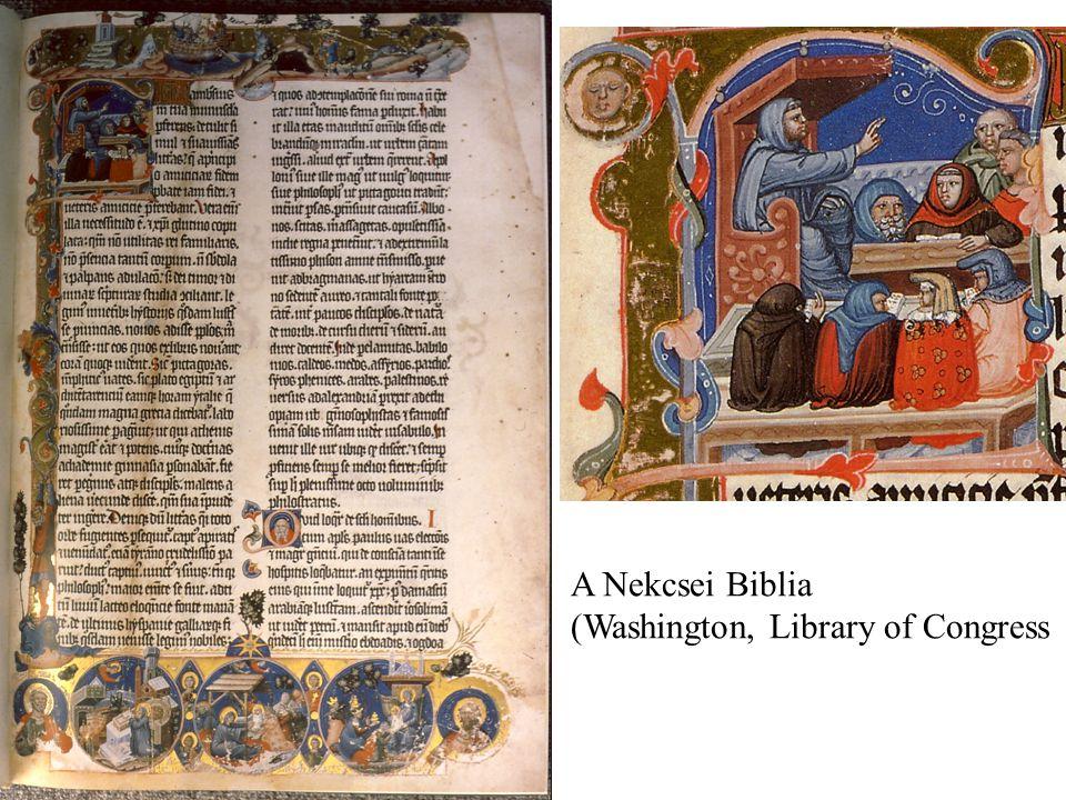 A Nekcsei Biblia (Washington, Library of Congress