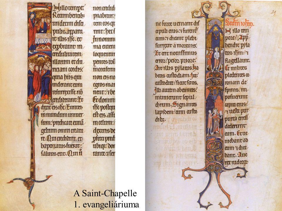 A Saint-Chapelle 1. evangeliáriuma