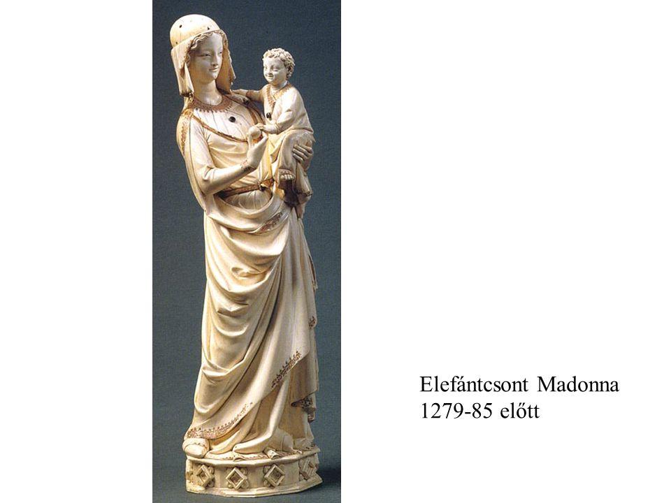 Elefántcsont Madonna 1279-85 előtt