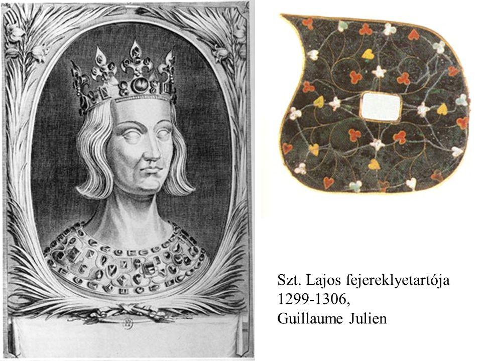 Szt. Lajos fejereklyetartója 1299-1306, Guillaume Julien