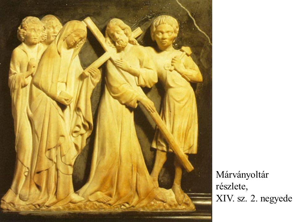 Márványoltár részlete, XIV. sz. 2. negyede