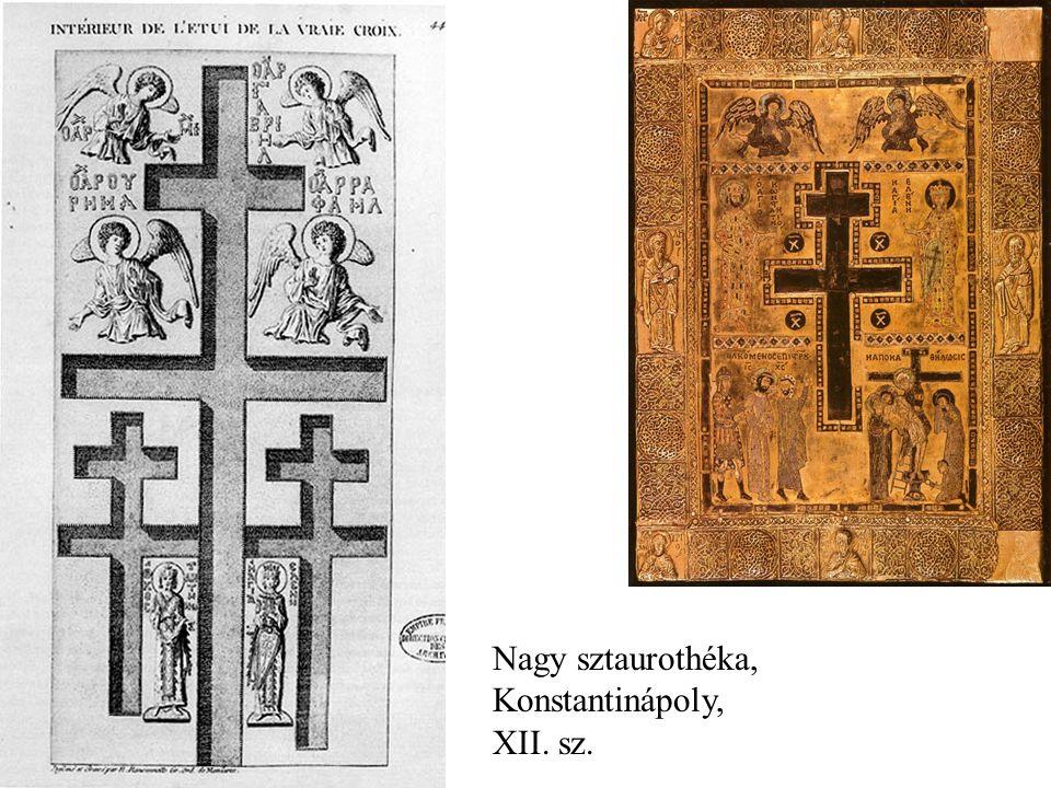 Nagy sztaurothéka, Konstantinápoly, XII. sz.