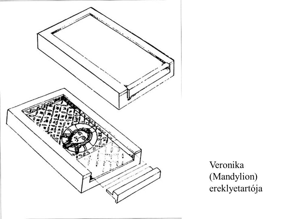 Veronika (Mandylion) ereklyetartója