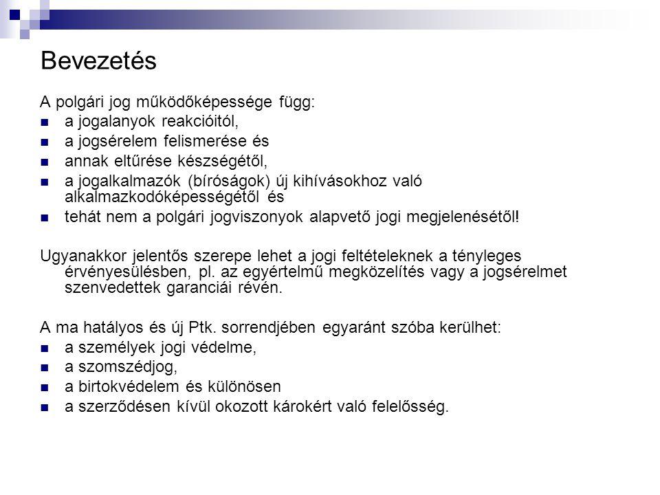 MÁSODIK KÖNYV - AZ EMBER MINT JOGALANY 2013.évi V.