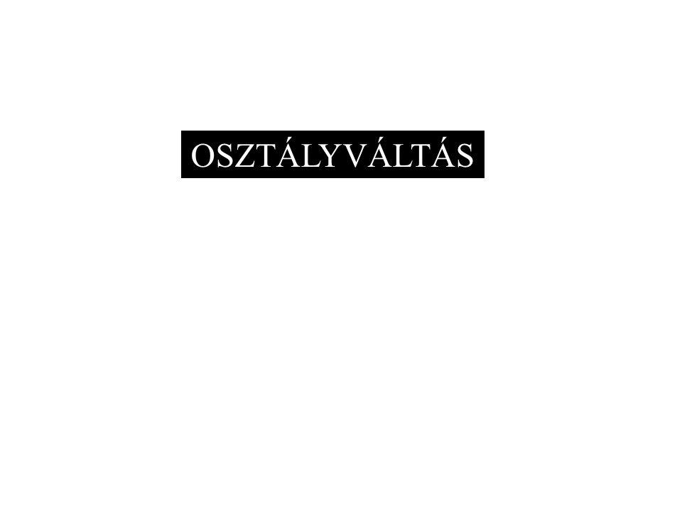 OSZTÁLYVÁLTÁS