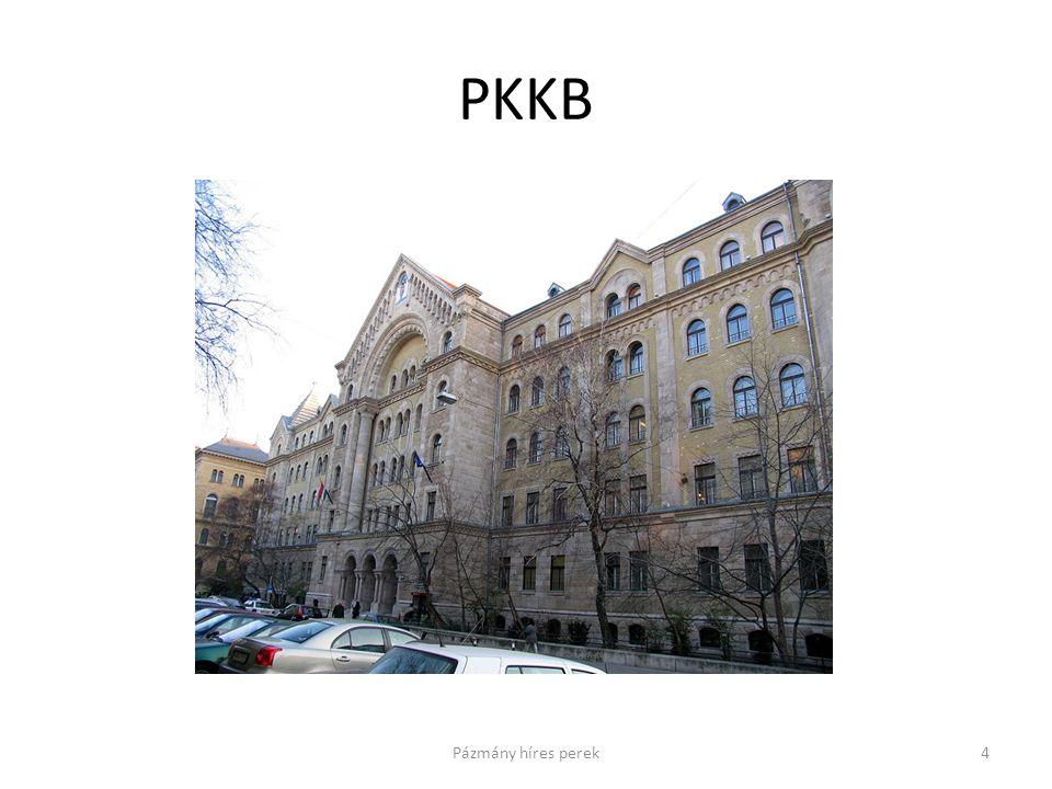 PKKB 4Pázmány híres perek