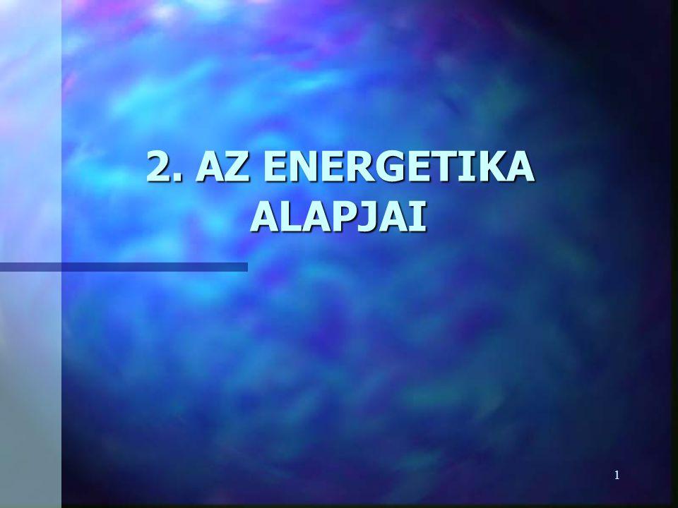 1 2. AZ ENERGETIKA ALAPJAI