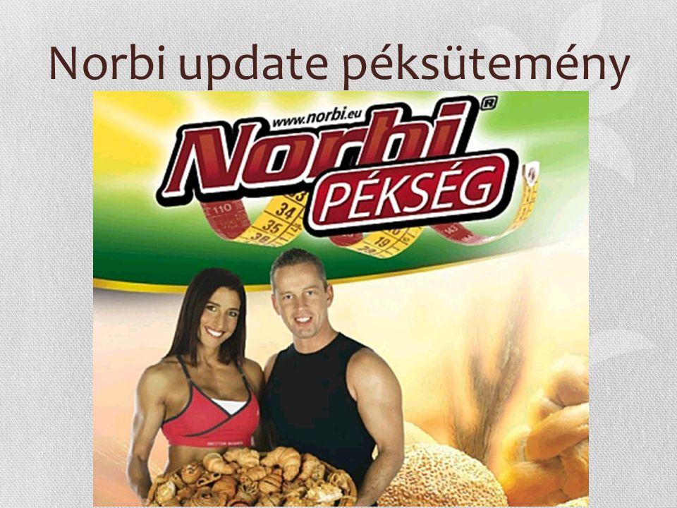 Norbi update péksütemény