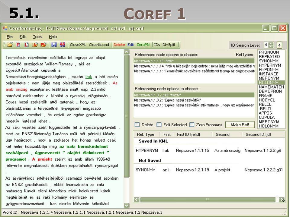C OREF 1 5.1. 16