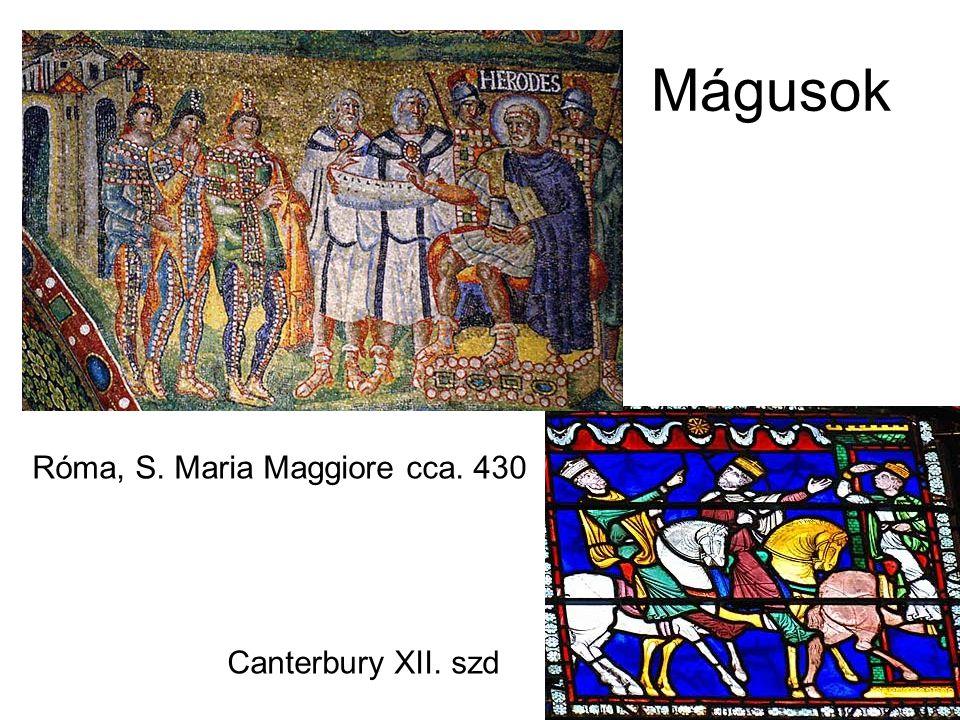 Róma, S. Maria Maggiore cca. 430 Canterbury XII. szd