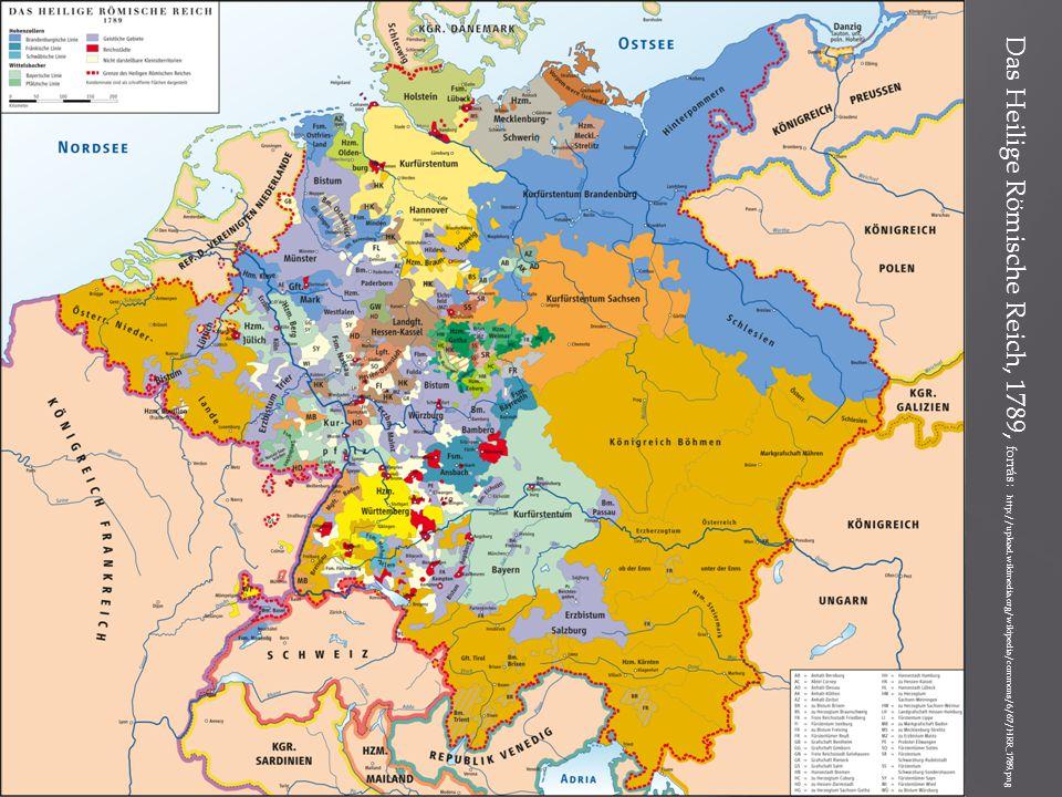 Das Heilige Römische Reich, 1789, forrás: http://upload.wikimedia.org/wikipedia/commons/6/67/HRR_1789.png
