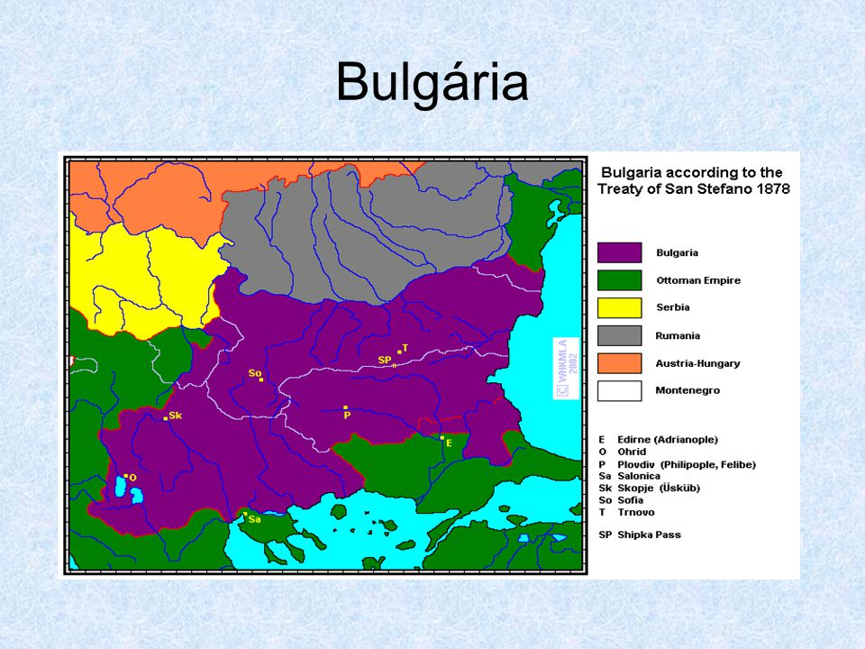 Bulgária kicsit később…
