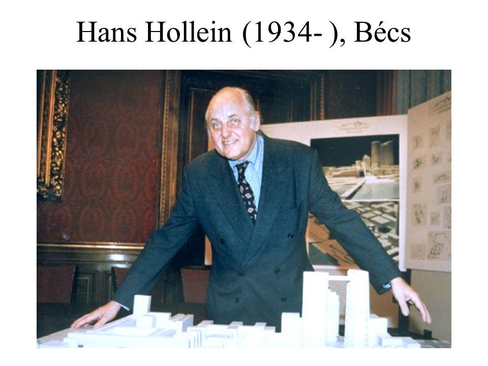 Hans Hollein (1934- ), Bécs