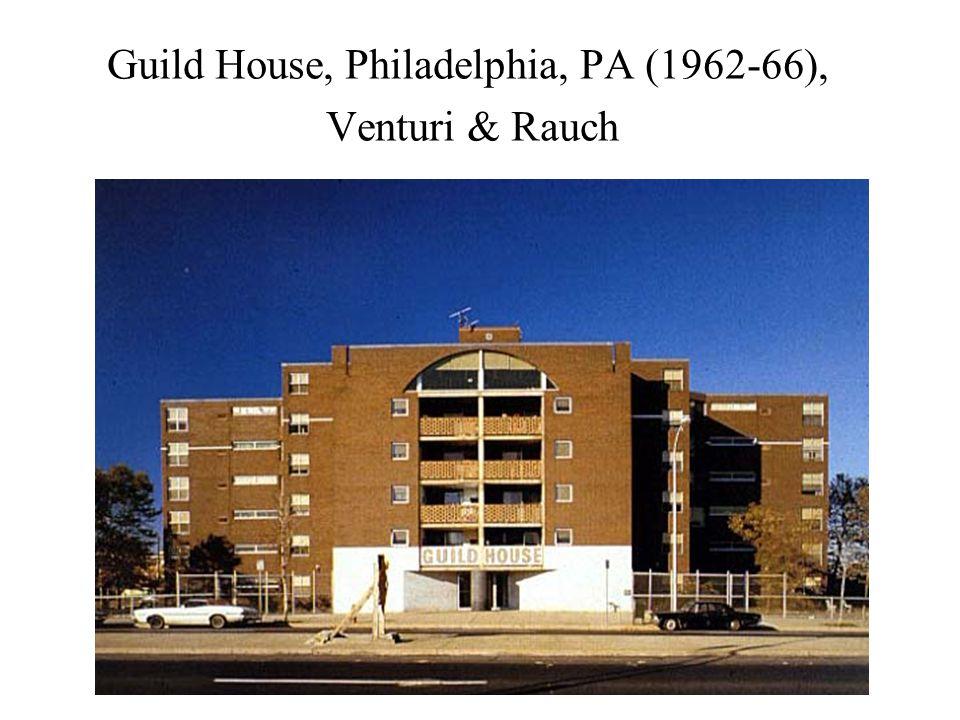 Guild House, Philadelphia, PA (1962-66), Venturi & Rauch
