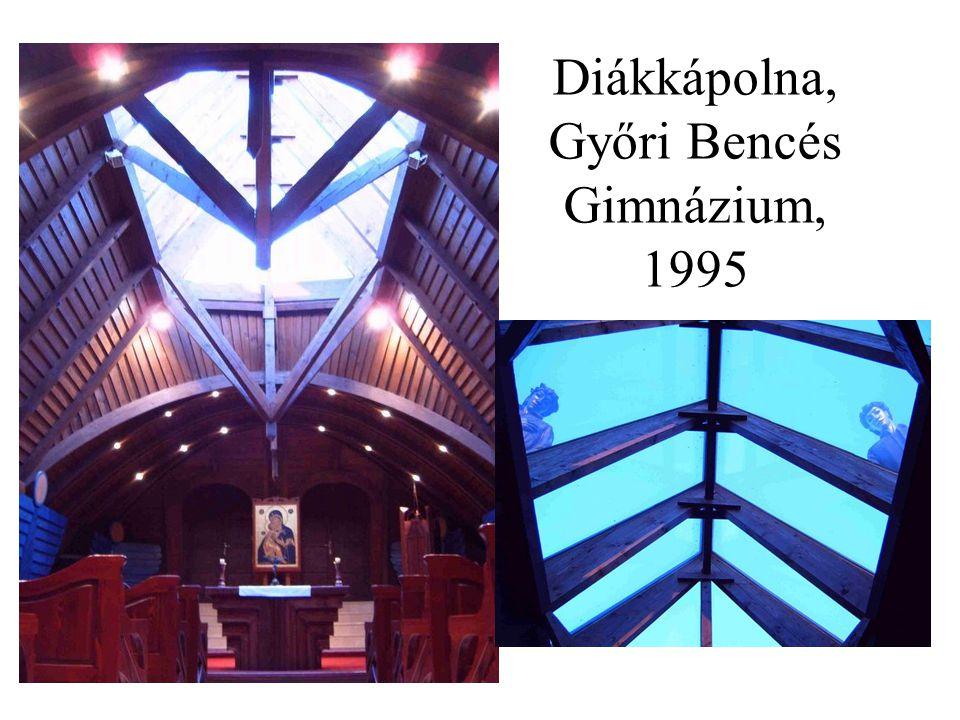 Diákkápolna, Győri Bencés Gimnázium, 1995