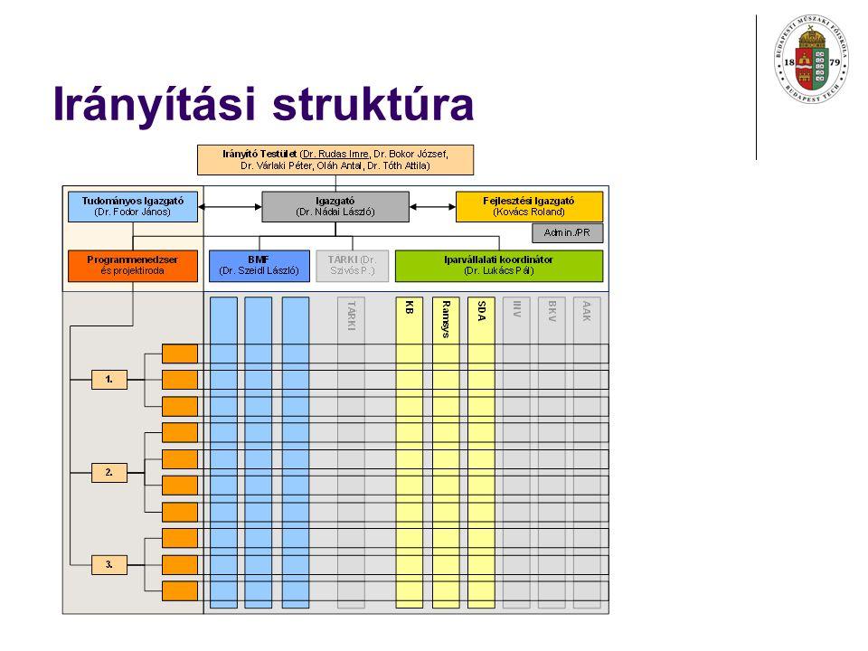Irányítási struktúra