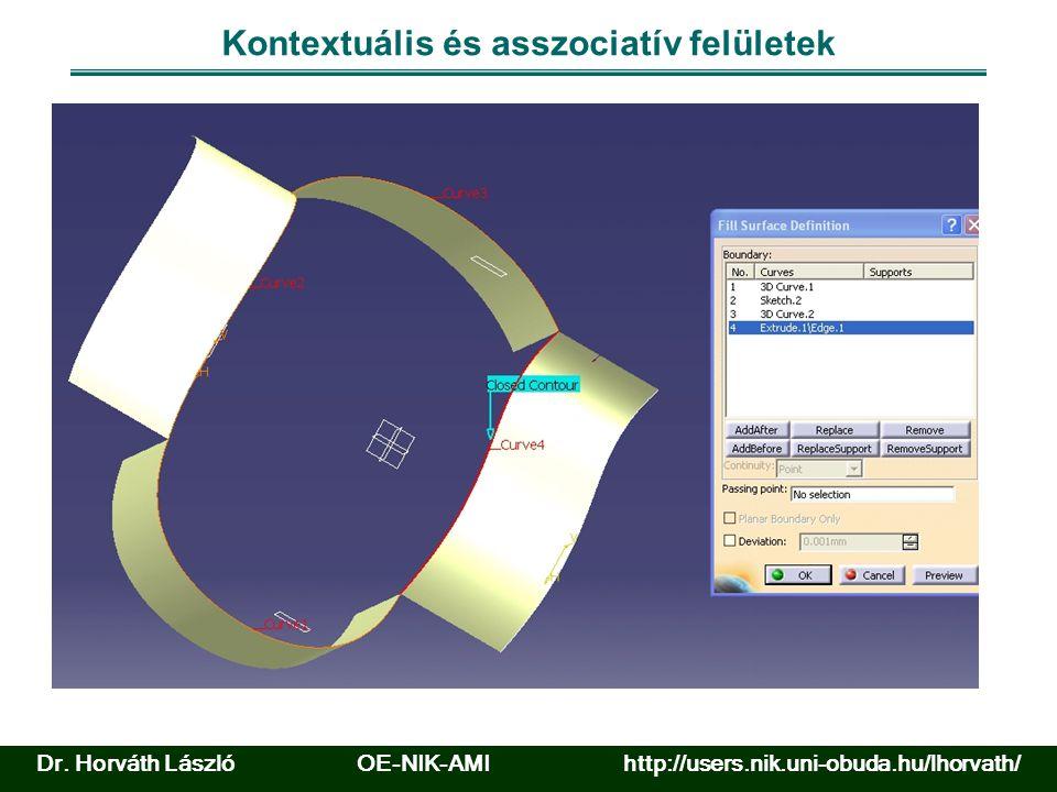 Felület elemzése Forrás: www.catia.com Dr.