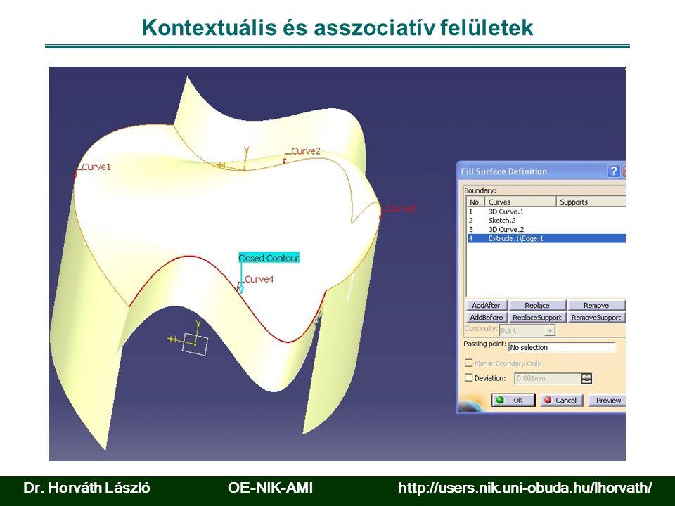 Előadást magyarázó feladat 2 Dr. Horváth László OE-NIK-AMI http://users.nik.uni-obuda.hu/lhorvath/