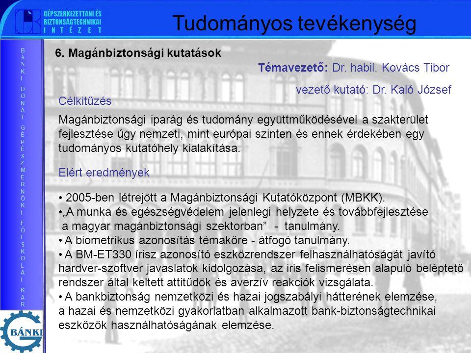 BÁNKIDONÁTGÉPÉSZMÉRNÖKIFŐISKOLAIKARBÁNKIDONÁTGÉPÉSZMÉRNÖKIFŐISKOLAIKAR 6.