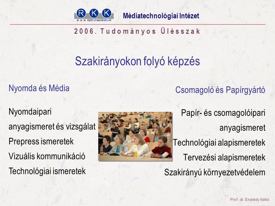 Tudományos Ülésszak 2006. november 03.