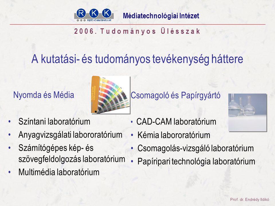 Tudományos Ülésszak 2006. november 03. 2 0 0 6.