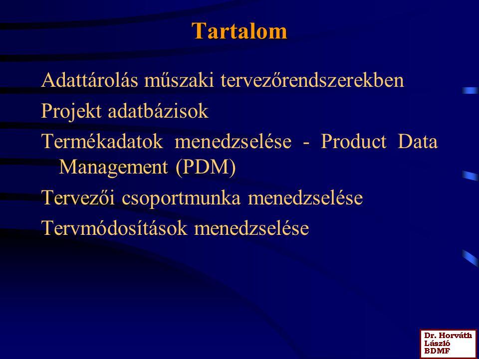 6.2 Előadás Tervezőrendszerek adatbázisai Technológia-tervezési folyamatok számítógépes rendszerekben Alkatrészgyártási folyamat modellje Tíipizált te